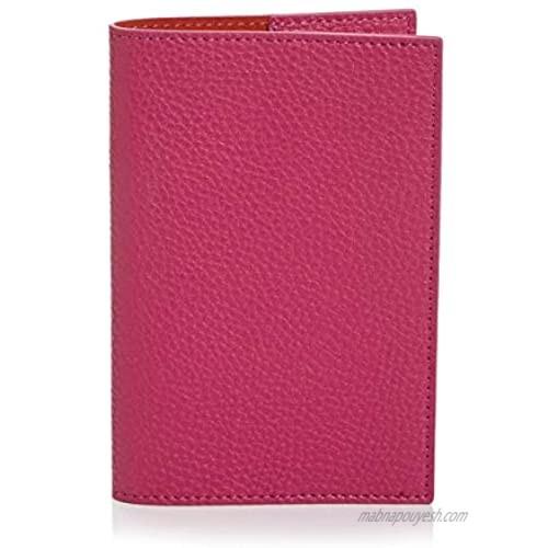 Campo Marzio Unisex Leather Passport Holder