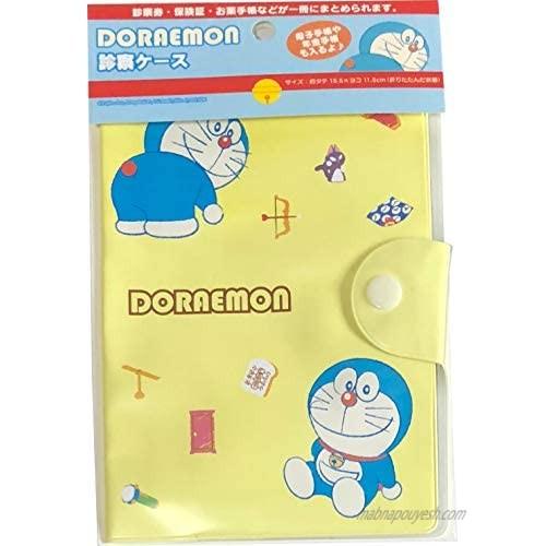 Doraemon Vinyl Travel Passport Examination Case Holder