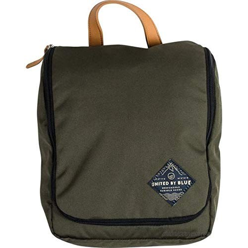 Travel Toiletry Case (Pitch Olive)