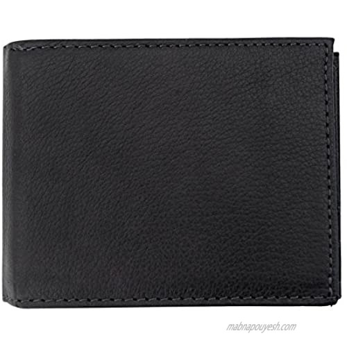 Canyon Outback Leather Goods  Inc. Canyon Outback Grand Lake Leather Convertible Wallet-Black  One Size