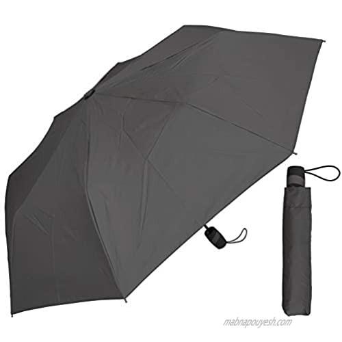 """42"""" Auto Open Gray Super Mini Umbrella"""