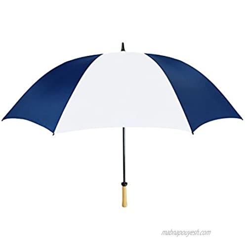Natico Spectrum Auto-Open/Close Umbrella  Navy Blue & White (60-42-NBL-WH)