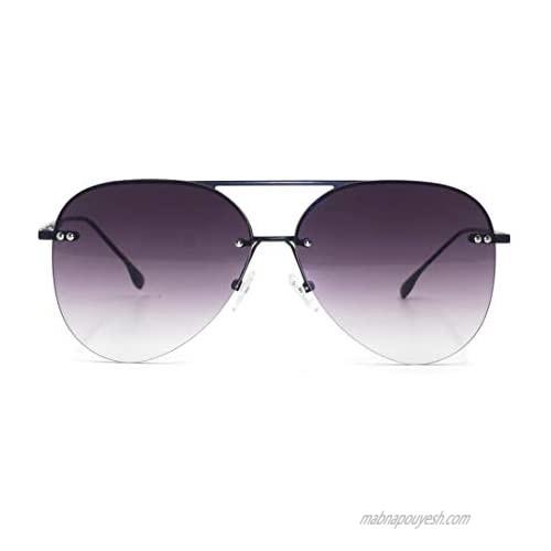 TopFoxx Megan 2 High Fashion Aviator Sunglasses for Women