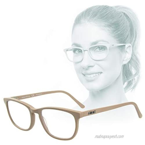 Edison & King Soul Mirror – like a second skin  nude-look' glasses made from skin-friendly acetate