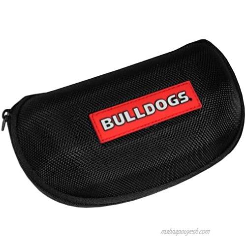 NCAA Georgia Bulldogs Hard Shell Glasses Case  Black