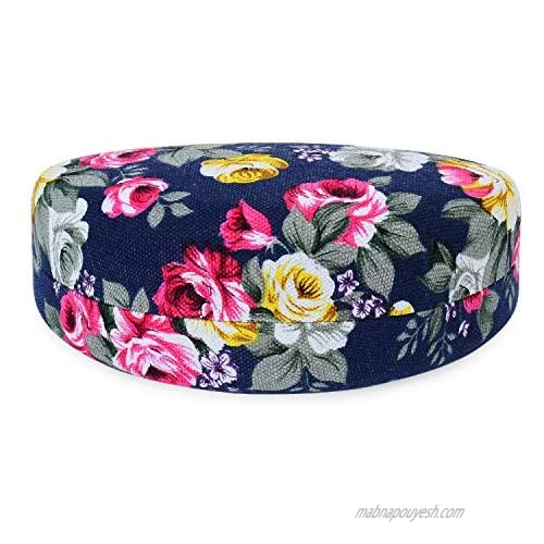 Oversized Hard Shell Sunglasses Case For Women Durable Protective Holder for Extra Large Reading Glasses With Clean Cloth