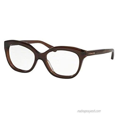 Coach Women's HC6096 Eyeglasses Dark Brown 51mm