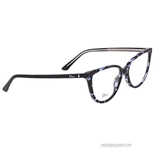 Dior Montaigne 33 - Blue Havana 0JBW Eyeglasses