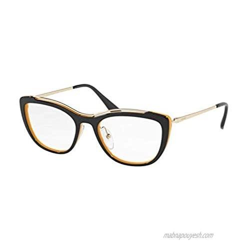 Eyeglasses Prada PR 4 VV WU01O1 BLUE/YELLOW  51/18/140