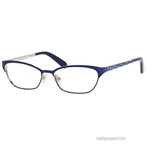 Kate Spade Leticia Eyeglasses-0JNA Opaque Navy -52mm
