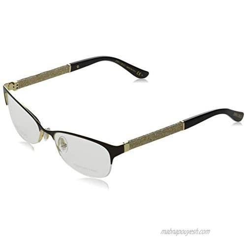 Optical frame Jimmy Choo Metal - Acetate Metalic Brown - Glitter Gold (JC106 F62)