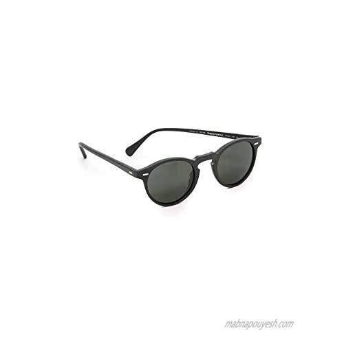 Oliver Peoples Eyewear Men's Gregory Peck Polarized Sunglasses