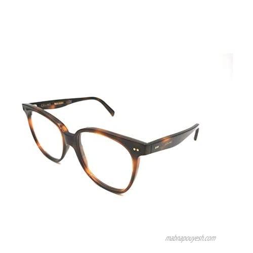 Celine CL50010I - 053 ACETATE Eyeglass Frame Tortoise 55mm