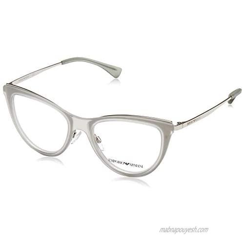Eyeglasses Emporio Armani EA 1074 3015 Matte Transparent Grey