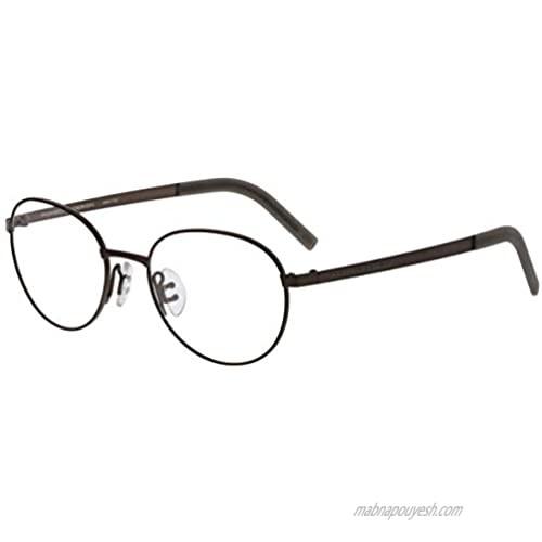 Porsche Design Men's Eyeglasses Frame - P8315 B - Brown (50-18-140)