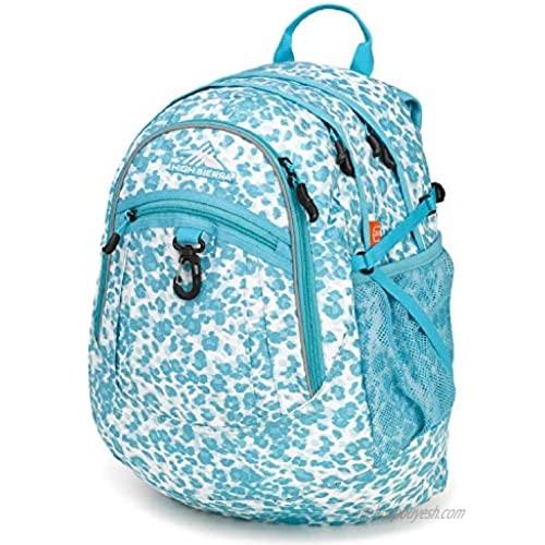 High Sierra Fatboy RVMP Backpack  Tropic Leopard/Tropic Teal  One Size