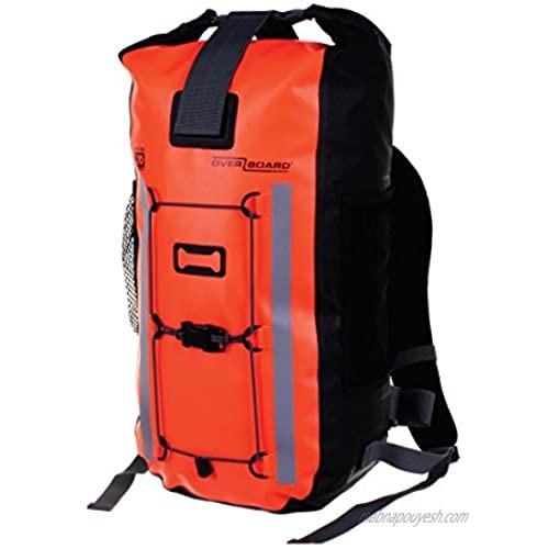 OverBoard Waterproof Pro-Vis Backpack  Orange  20-Liter