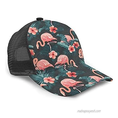 Men Women Baseball Caps Messy Adjustable Dad Hat Trucker Ponycap Vintage