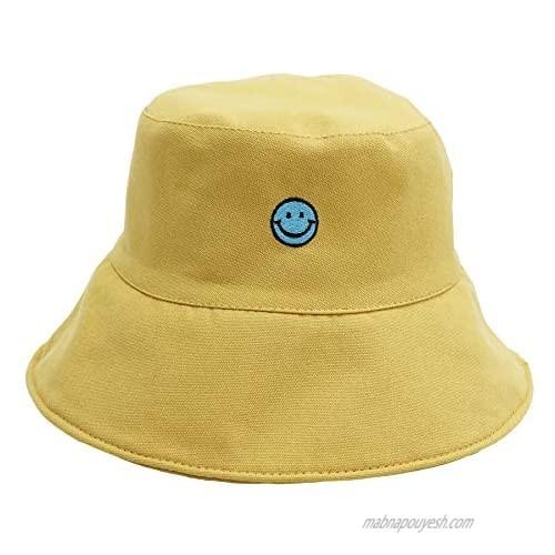 jiaoji Women's Bucket Beach Packable Sun Hat Reversible Vistor Outdoor Cap