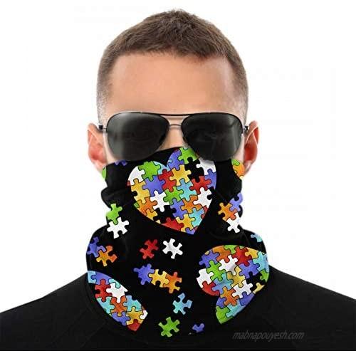 Seamless Bandana Half Face Mask Women Men