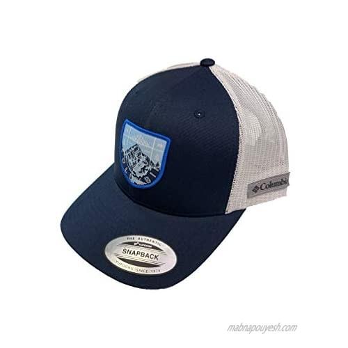 Columbia Men`s Mesh Adjustable Snap Back Ball Cap