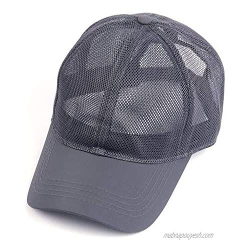 "Zylioo XXL Oversize Baseball Mesh Cap Breathable Quick Dry Running Hat Adjustable Summer Caps for Big Heads 23.5""-25.5"""
