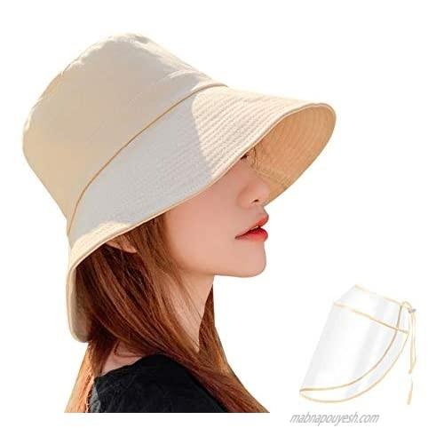 Cotton Bucket Hat for Men and Women Unisex Trendy Outdoor Hot Summer Beach Cap