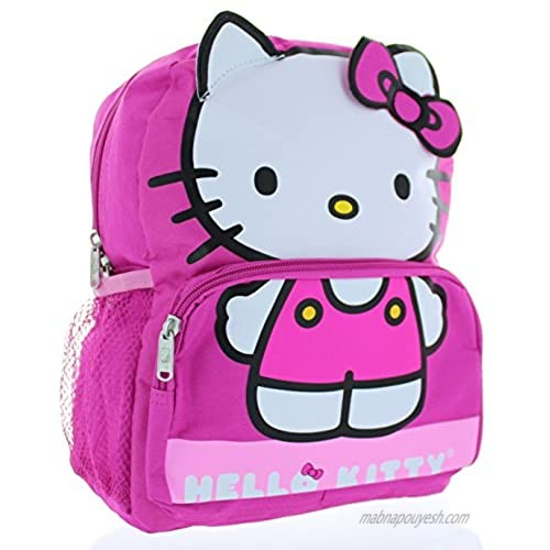 """Hello Kitty 12"""" Backpack 'Be the Character'"""
