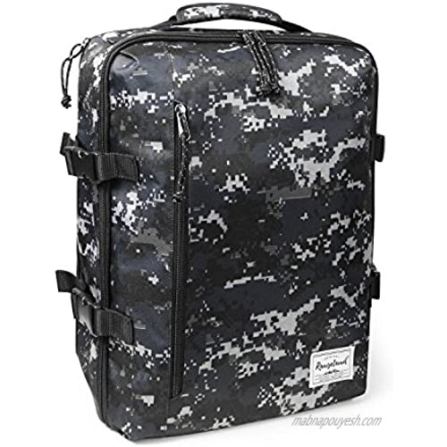 Rangeland Travel Backpack NEW 2021 21L Carry on Daypack Fits 15inch Laptop Notebook and Travel Accessories Meets IATA Flight Standards  Digi Camo
