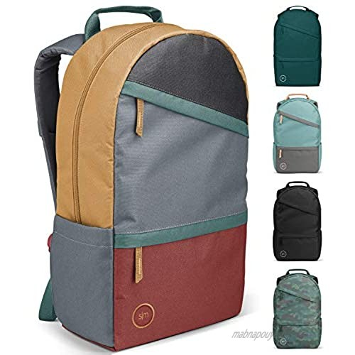 Simple Modern Legacy Backpack with Laptop Compartment Sleeve for Men Women Work School College  Soho Retreat (Color Blocked)  25 Liter