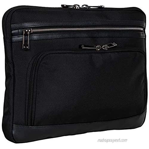 "Heritage Travelware Streeterville 15.6"" Laptop & Tablet Business Case Computer Sleeve Bag  Black"