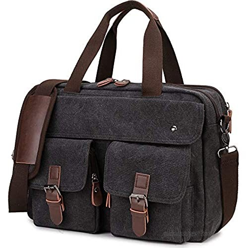 Messenger Bag for Men RAVUO Water Resistant 15.6 Inch Laptop Briefcase Bag Casual Mens Satchel for Business