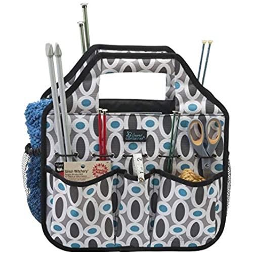 """RoomForLife - Stuff 'N Go Messenger Style Tote Bag  adjustable strap  8 pockets  13"""" x 14"""""""