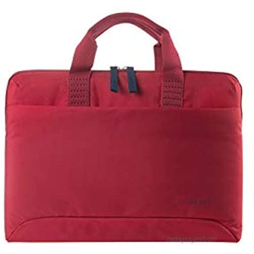 "Tucano Smilza Laptop Case for Laptop 14""/MacBook Air or Pro 13""  Shock Absorbing Padding  detachable shoulder strap"