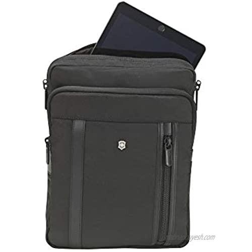 Victorinox Werks Professional 2.0 Crossbody Laptop Bag  Black  12.6-inch